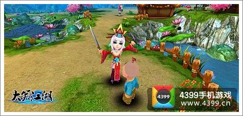 手游玩家也要与众不同 3D回合《大笑江湖》推个性时装