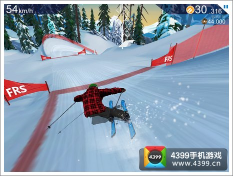 FRS滑雪越野赛画面