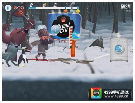 保罗滑雪队高分攻略