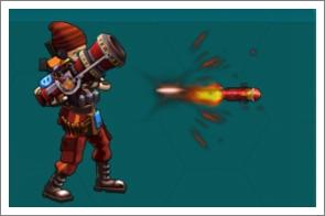 大枪传奇武器火箭弹