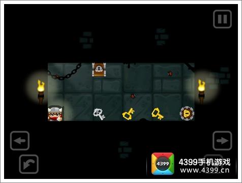 维京人在地牢游戏画面