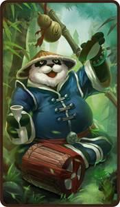 刀塔传奇熊猫酒仙