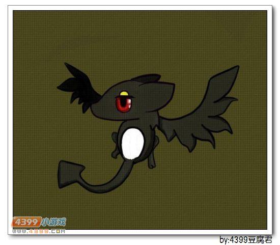 卡布手绘—小黑蝠