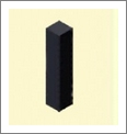 魔法宝贝黑色柱子