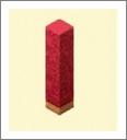 魔法宝贝红色柱子