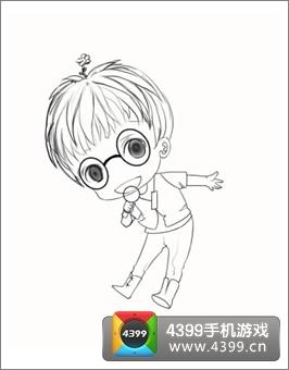 华晨宇卡通萌图