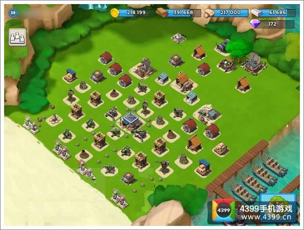 海島奇兵16本陣型
