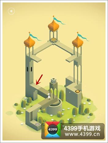 纪念碑谷初始位置
