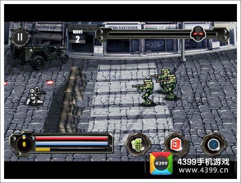 复仇机器人画面