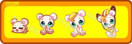 奥比岛小精灵-萌萌小甜熊进化图鉴及获得方法