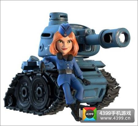 《海岛奇兵》最新坦克造型曝光 美女坦克实在惊艳