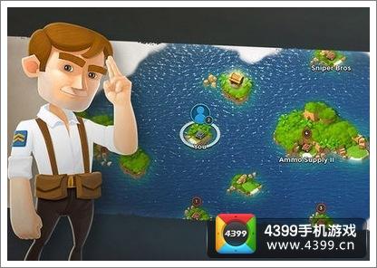 海岛奇兵怎么模拟 模拟进攻是什么