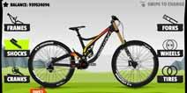 极速下坡2怎么改装自行车 自行车配件介绍