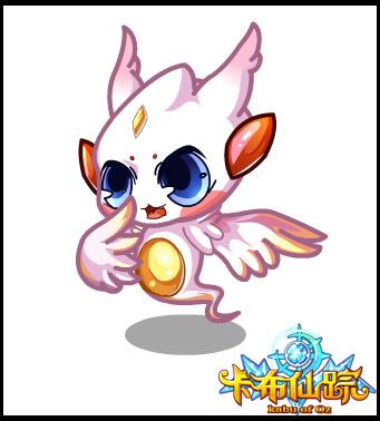 卡布仙踪挥着翅膀的小幽灵