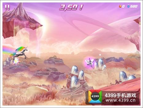 彩虹独角兽2怎么跳过悬崖