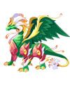 龙斗士翠星纹龙