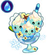 奥雅之光蓝莓冰淇淋杯