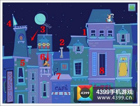 4399手机游戏网 梦游先生 攻略心得 正文  2,点击 2处烟囱,形成烟雾