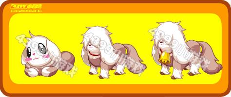 奥比岛萌萌棕牧羊犬
