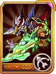 龙斗士焰剑光魔龙橙卡