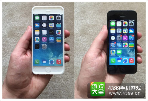 iPhone6大屏有多大