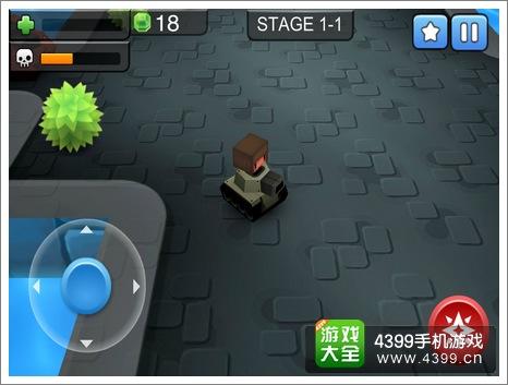 3D坦克大战游戏画面