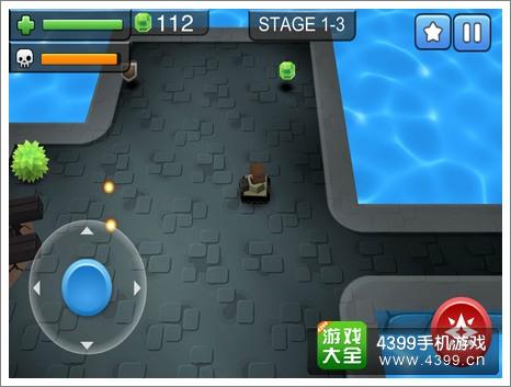 3D坦克大战游戏操作