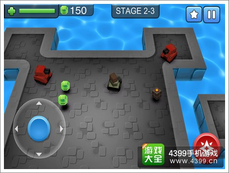 3D坦克大战游戏难度