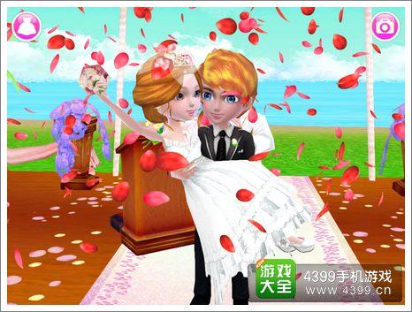 可可婚礼海边草坪婚礼