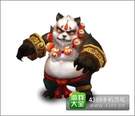 城堡争霸熊猫武者