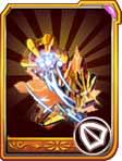 龙斗士铠甲帝皇龙橙卡