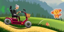 愤怒的老奶奶赛车金币怎么得 得金币方法
