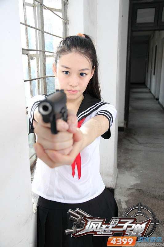 日系美女宣战入侵者