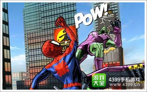 蜘蛛侠无限为跑酷游戏