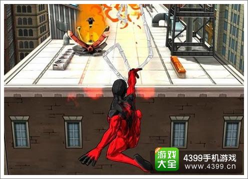 在蜘蛛侠无限中可以与反派对战