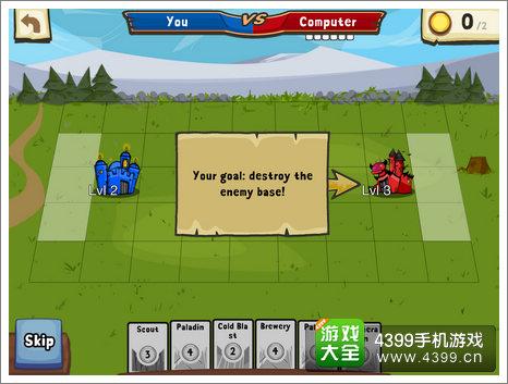 卡牌与城堡怎么玩