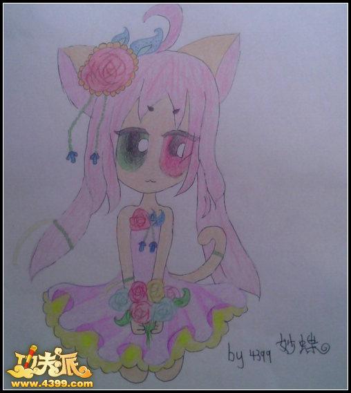 儿童模特手绘效果图