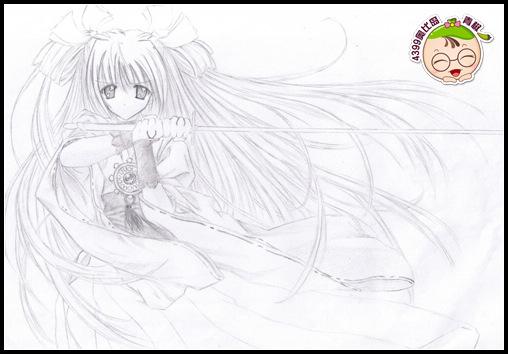 奥比岛手绘公主拔剑-4399pink雪莹