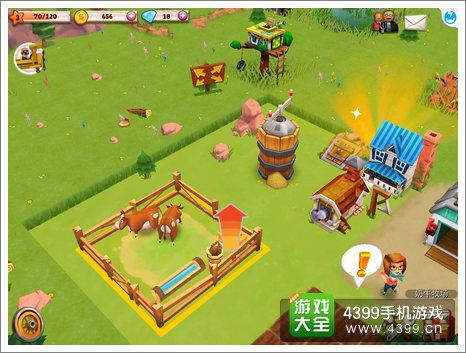农庄物语2怎么移动建筑