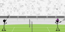 全民健康运动 《火柴人羽毛球》评测