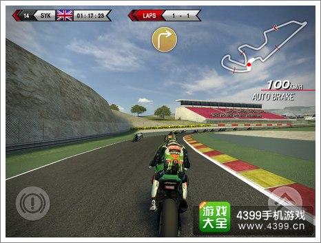 SBK14摩托车锦标赛操作