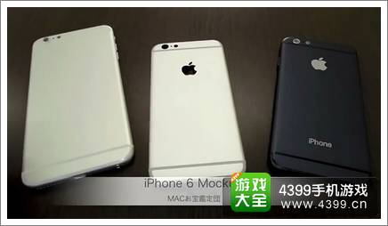 iphone6宣传视频 真机外观测试