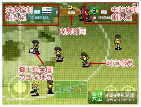 像素杯足球快速游戏模式