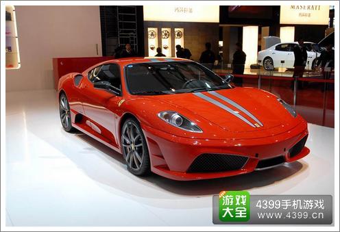 狂野飙车8法拉利f430高清图片
