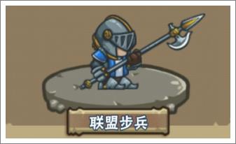 热斗军团联盟步兵
