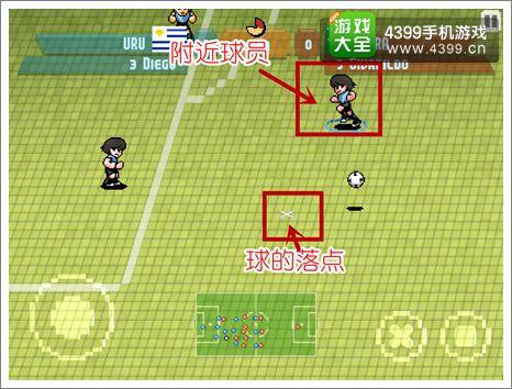 像素杯足球技巧