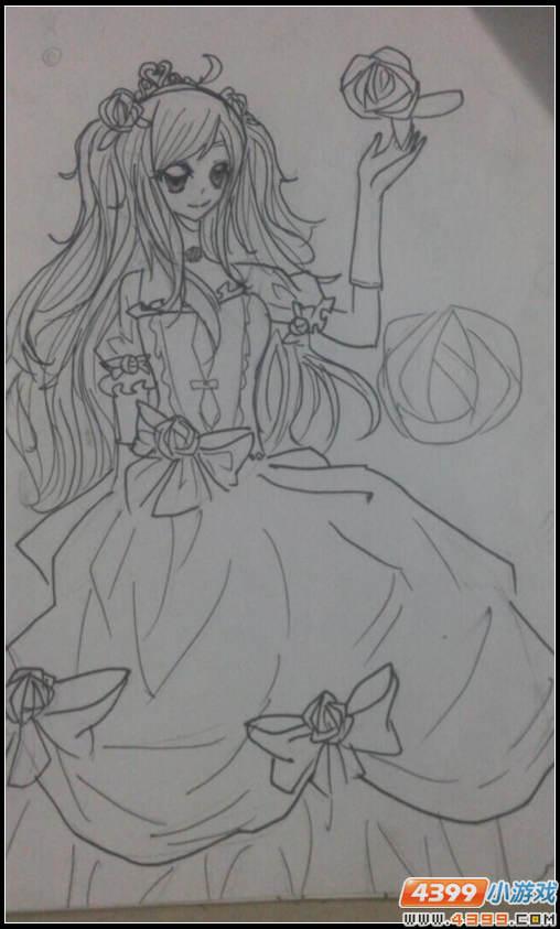 奥比岛蔷薇の公主-4399小泊