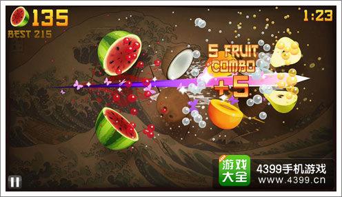 乐逗 水果忍者 或于8月登陆微信手机qq平台