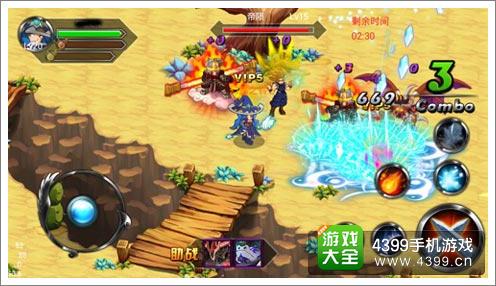 《疾风勇者传》游戏画面截图