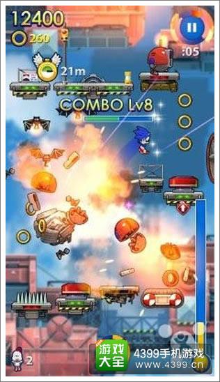 《索尼克跳跃:狂热》游戏画面截图